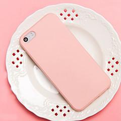 halpa -Etui Käyttötarkoitus Apple iPhone 5 kotelo iPhone 6 iPhone 7 Iskunkestävä Takakuori Yhtenäinen väri Pehmeä TPU varten iPhone 7 Plus