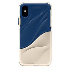 Недорогие Кейсы для iPhone 7 Plus-Кейс для Назначение Apple iPhone X iPhone 8 Защита от удара Матовое Кейс на заднюю панель броня Твердый ПК для iPhone X iPhone 8 Pluss