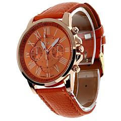 お買い得  レディース腕時計-女性用 リストウォッチ 白 / レッド / オレンジ クロノグラフ付き 大きめ文字盤 ハンズ バングル 多色 - ブルー ライトブルー ライトグリーン 1年間 電池寿命