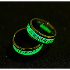 Χαμηλού Κόστους Δαχτυλίδια-Ανδρικά Band Ring - Μοντέρνα, Φωτίζει 6 / 7 / 8 Χρυσό / Ασημί Για Καθημερινά