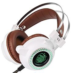 preiswerte Zubehör für Computerspiele-V2 Mit Kabel Kopfhörer Für PC . Kopfhörer PU-Leder 1 pcs Einheit