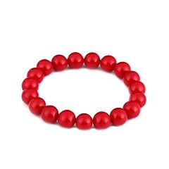 preiswerte Armbänder-Damen Perle Ketten- & Glieder-Armbänder - Perle Böhmische, Natur, Süß Armbänder Rot Für Abschluss Zeremonie