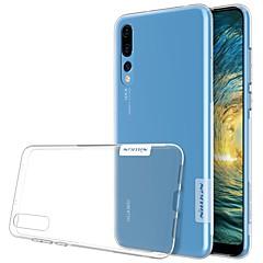 billige Nyheder-Etui Til Huawei P20 Pro P20 Ultratyndt Transparent Bagcover Ensfarvet Blødt TPU for Huawei P20 lite Huawei P20 Pro Huawei P20