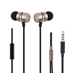 preiswerte Headsets und Kopfhörer-AWEI Q5i Im Ohr Kabel Kopfhörer Dynamisch Metal Sport & Fitness Kopfhörer Mini / Bequem / Mit Mikrofon Headset