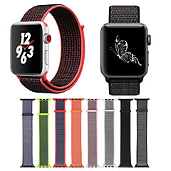 voordelige Apple Watch-accessoires-Horlogeband voor Apple Watch Series 4/3/2/1 Apple Moderne gesp Nylon Polsband