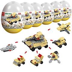 olcso -Építőkockák 230pcs Katonai Stressz és szorongás oldására / Szülő-gyermek interakció Tank Ajándék