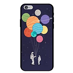 Недорогие Кейсы для iPhone-Кейс для Назначение Apple iPhone X / iPhone 8 С узором Кейс на заднюю панель Воздушные шары Мягкий ТПУ для iPhone X / iPhone 8 Pluss / iPhone 8