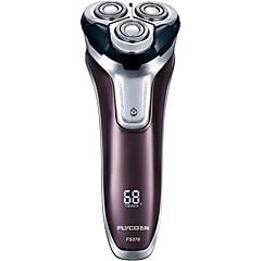 hesapli Sağlık ve Güzellik-FLYCO Elektrikli Tıraş Makineleri için Erkek 110-220 V Su Resisdansı / Güç göstegesi / Düşük Ses / Hızlı Şarj / Yıkanabilir / Şarj göstergesi