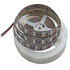 お買い得  LED ストリングライト-5m フレキシブルLEDライトストリップ 300 LED SMD5050 デュアル光源色 カット可能 / 接続可 / ノンテープ・タイプ 12 V 1個