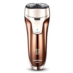 hesapli Sağlık ve Güzellik-FLYCO Elektrikli Tıraş Makineleri için Erkek 110-220 V Güç göstegesi / Düşük Ses / Hızlı Şarj / Yıkanabilir / Şarj göstergesi