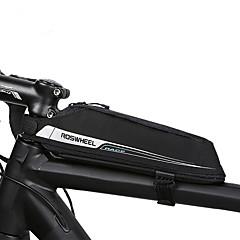 abordables Bolsas para Bicicleta-0.4 L Bolsa para Cuadro de Bici / Bolsa de tubo superior Portátil, Duradero Bolsa para Bicicleta Tejido Bolsa para Bicicleta Bolsa de Ciclismo Ciclismo / Bicicleta / Cremallera a prueba de agua