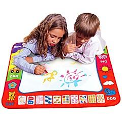 abordables Juguetes Dibujo-Water Drawing Play Mat Juguete para dibujar Pintura / Simple / Interacción padre-hijo Niños Regalo 1 pcs