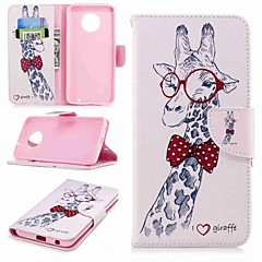 cheap Cases / Covers for Motorola-Case For Motorola Moto G6 Plus / MOTO G5 Wallet / Card Holder / with Stand Full Body Cases Animal Hard PU Leather for MOTO G6 / Moto G5s Plus / Moto G5s