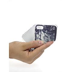 Недорогие Кейсы для iPhone 7 Plus-Кейс для Назначение Apple iPhone X / iPhone 7 Ультратонкий / С узором / Милый Кейс на заднюю панель Пейзаж / дерево Мягкий ТПУ для iPhone