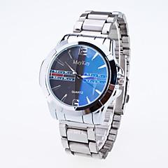 preiswerte Herrenuhren-Herrn Armbanduhr Quartz Armbanduhren für den Alltag Legierung Band Analog Modisch Silber - Weiß Blau