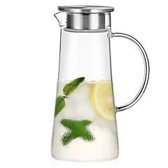 abordables Tazas y vasos-Vasos Vaso de boro alto Vidrio retener el calor 1pcs