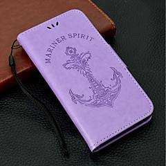 Недорогие Кейсы для iPhone X-Кейс для Назначение Apple iPhone X / iPhone 8 Plus Бумажник для карт / Кошелек / со стендом Чехол Слова / выражения / Соблазнительная