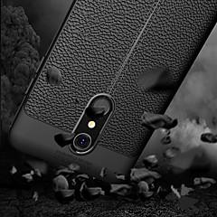 Недорогие Чехлы и кейсы для LG-Кейс для Назначение LG K10 2018 Рельефный Кейс на заднюю панель Однотонный Мягкий ТПУ для LG K10 2018