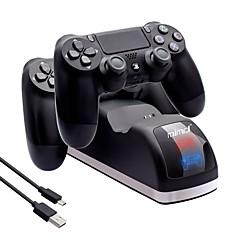 preiswerte Zubehör für Videospiele-Mit Kabel Ladegerät Für PS4 / PS4 Schlank / PS4 Prop . Ladegerät ABS 1 pcs Einheit