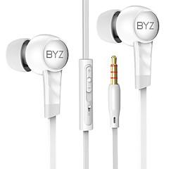 お買い得  ヘッドセット、ヘッドホン-K61 耳の中 ケーブル ヘッドホン 動的 銅 携帯電話 イヤホン ボリュームコントロール付き ヘッドセット
