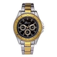 お買い得  メンズ腕時計-男性用 ドレスウォッチ 中国 クロノグラフ付き ステンレス バンド クリエイティブ / ファッション ゴールド