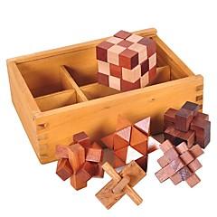 voordelige -Luban houten 3D-puzzel Overige Focus Toy Hout / Bamboe 1pcs Volwassenen / Kind Allemaal Geschenk