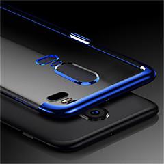 voordelige Overige hoesjes-hoesje Voor OnePlus OnePlus 6 / OnePlus 5T Transparant Achterkant Effen Zacht TPU voor OnePlus 6 / OnePlus 5T