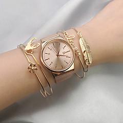 abordables Bijoux pour Femme-Empiler Manchettes Bracelets - Cerf, Flocon de Neige, Plume Européen, Mode Bracelet Or Pour Quotidien