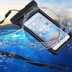 Недорогие Кейсы для iPhone 4s / 4-Кейс для Назначение Apple iPhone 7 / iPhone 6 Водонепроницаемый / Кошелек / Защита от влаги Мешочек Однотонный Мягкий ABS + PC для iPhone X / iPhone 8 Pluss / iPhone 8