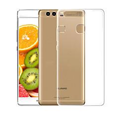 お買い得  Huawei Pシリーズケース/ カバー-ケース 用途 Huawei P10 Lite クリア バックカバー ソリッド ソフト TPU のために P10 Lite