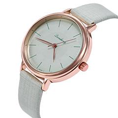 お買い得  レディース腕時計-女性用 リストウォッチ カジュアルウォッチ / かわいい PU バンド カジュアル / ファッション ブラック / 白 / グリーン