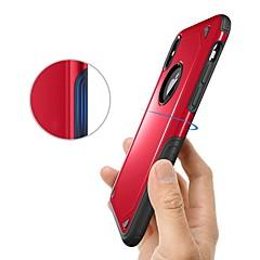 Недорогие Кейсы для iPhone 6-Кейс для Назначение Apple iPhone X / iPhone 8 Защита от удара Кейс на заднюю панель броня Твердый ТПУ для iPhone X / iPhone 8 Pluss / iPhone 8