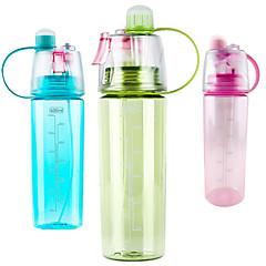 abordables Botellas de Agua-Vasos Vajilla de Uso Habitual / Novedad en Vajillas / Tazas de Té Plásticos Portátil / Don novio / Regalo novia Entrenamiento / Deporte