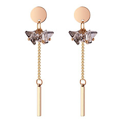 preiswerte Ohrringe-Damen Ohrstecker - Kugel Stilvoll, Anhänger Stil, Elegant Weiß / Grau / Leicht Rosa Für Alltag / Arbeit