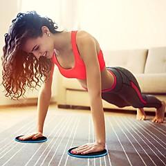 billiga Träningstillbehör-Gliddynor för träning Med 2 pcs ABS-harts / EVA Brända Kalorier Slimmande För Motion & Fitness