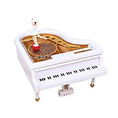 voordelige muziekdoos-Muziekdoos Piano Klassiek / Romantisch Roterend Kinderen Geschenk Vrouw