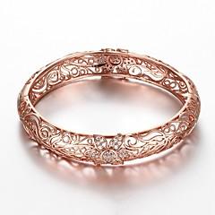 preiswerte Armbänder-Damen Armreife / Armband - vergoldet Blume Modisch Armbänder Gold / Rotgold Für Geschenk / Alltag