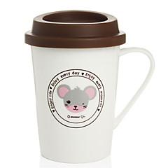 billige -drinkware Porcelæn Kaffekrus Tegneserier 1 pcs