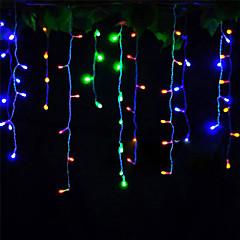 preiswerte LED Lichtstreifen-4m Leuchtgirlanden 96 LEDs LED Diode Warmes Weiß / Kühles Weiß / Rot Dekorativ / Verbindbar 220-240 V 1pc