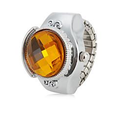 preiswerte Tolle Angebote auf Uhren-Damen Ringuhr Japanisch Armbanduhren für den Alltag Legierung Band Retro Silber / Ein Jahr / SSUO SR626SW