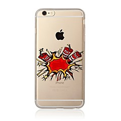 abordables Fundas para iPhone 4s / 4-Funda Para Apple iPhone X / iPhone 8 Transparente / Diseños Funda Trasera Caricatura Suave TPU para iPhone X / iPhone 8 Plus / iPhone 8