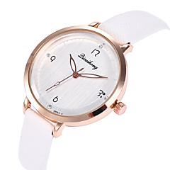 preiswerte Damenuhren-Damen Armbanduhr Armbanduhren für den Alltag / Cool PU Band Freizeit / Modisch Schwarz / Weiß / Blau