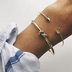 preiswerte Armbänder-Damen Manschetten-Armbänder - Retro, Modisch Armbänder Gold Für Alltag / Verabredung