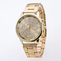 お買い得  メンズ腕時計-男性用 リストウォッチ 中国 カジュアルウォッチ 合金 バンド ファッション ゴールド