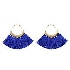 preiswerte Ohrringe-Damen Quaste Tropfen-Ohrringe - Quaste Dunkelblau / Grau / Dunkelrot Für Geschenk Alltag