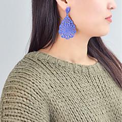 preiswerte Ohrringe-Damen Crossbody Tropfen-Ohrringe - Birne Grundlegend, Modisch Rot / Blau / Rosa Für Alltag / Verabredung