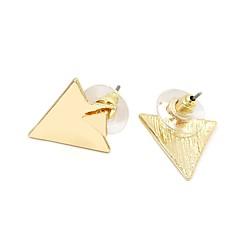 preiswerte Ohrringe-Damen Ohrstecker / Gestlyte Ohrringe Vorne Hinten - Retro, Modisch Gold / Silber Für Alltag / Ausgehen