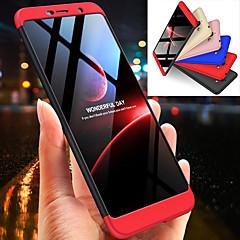 Недорогие Чехлы и кейсы для Nokia-Кейс для Назначение Nokia Nokia 7 Plus Защита от удара Чехол Однотонный Твердый ПК для Nokia 7 Plus