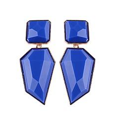 preiswerte Ohrringe-Damen Tropfen-Ohrringe - Europäisch, Modisch, Steampunk Rosa / Hellblau / Hellbraun Für Alltag / Schultaschen