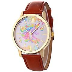 preiswerte Damenuhren-Xu™ Kleideruhr Armbanduhr Sender Kreativ, Armbanduhren für den Alltag, Großes Ziffernblatt Grau / Braun / Blau / Ein Jahr / Ein Jahr